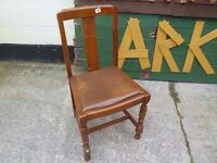 2 x Shabby Chic project Dinning Chair Delivery Available