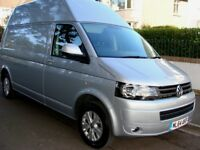 2015 VW T5 HIGHLINE 140 Transporter HIGH ROOF ...CAMPER SUPERB VALUE plus vat