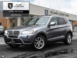 2014 BMW X3 xDrive28i REAR CAMERA | PANORAMIC ROOF | HEATED S...