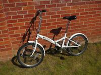 "Saxon FOLDING BIKE/BICYCLE - ""Saxon Fold-Up Leisure Folder"" - 6 speed twist grip"