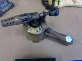 Vintage Benzoline Blow Torch