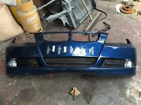 BMW front bumper e90 2006 to 2009
