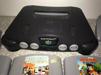 Nintendo 64 Console & 5 Games & Controller