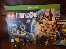 Lego dimensions starter kit and extra packs (Xbox One)
