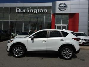 2014 Mazda CX-5 GT, NAVi, LEATHER, ROOF, 1 OWNER