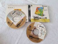 MICROSOFT OFFICE 2000 COMPLETE WITH 4 DISCS AND SERIAL KEY IN VERY GOOD CONDITION