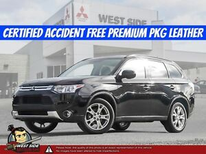 2015 Mitsubishi Outlander ES–Accident Free–One Owner–Premium Pac