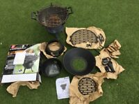 2 Charcoal BBQs Landmann Grillchef and a copy