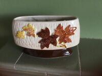 Vintage SylvaC 4008 Autumn Maple Leaves vase