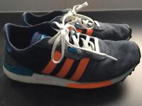 2 pairs adidas fit foam trainers
