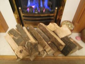 decent seasoned burning wood