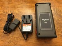 Flymo battery pack and charger