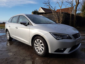 Seat Leon ST (TechPack), FSH with Seat, rear p/sensors, great condition