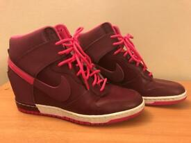 Ladies Nike Wedge Trainers