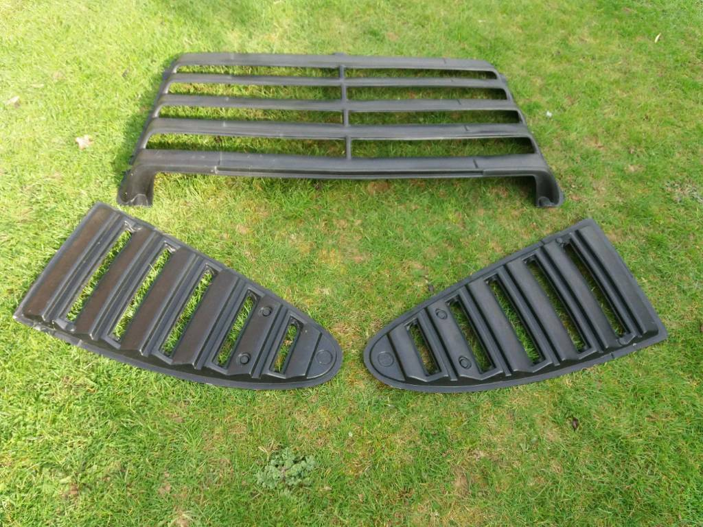 Ford Capri Rear Louvre And Side Window Louvres In