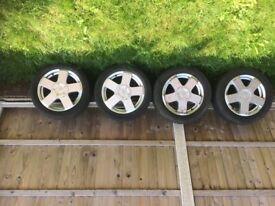 Ford Fiesta mk6.5 zetec alloys