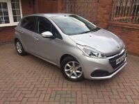 2016 66 Peugeot 208 Active, 5 doors, petrol, new shape