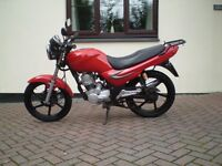 sym xs 125 2011 12 months mot similar to honda cbf 125 p/x possible