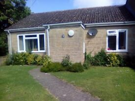 2 bed bungalow in somerset village location
