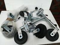 5 x Maypole Car Van Trailer Jockey Wheel With Clamp 34mm MP225