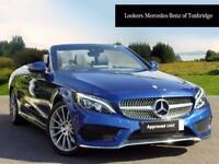 Mercedes-Benz C Class C 220 D AMG LINE PREMIUM PLUS (blue) 2017-04-26