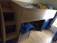 Cabin Bed with stairs