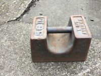 56lb Avery Cast iron Weight