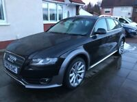New mod 2010 60 Reg Audi A4 allroad se 2l diesel 6 speed manual mot ex we 4x4 must be cheap at £6350