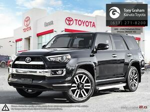 2014 Toyota 4Runner SR5 V6 Limited+Leather+Roof+5 Passenger