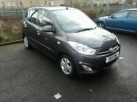 2011 Hyundai i10 1.2 petrol,low miles 10.400.Road tax £20 per year, NEW MOT,F.S.H.5door