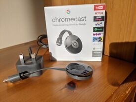 Google Chromecast (Perfect/As-New Condition)