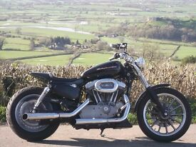 Harley Davidson 1200 Sportster Brat Style