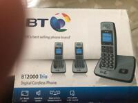 Bt 2000 trio digital cordless phone