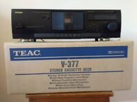 Teac V 3Teac V 377 Cassette Deck in original box