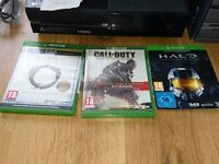 """xbox one 500gb - 2 games halo master chief edition + 42""""LCD TV"""