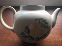 Poole Pottery Dorset Fruits Tea Pot - Orange