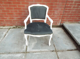 french style chair, great for girl room