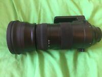 Sigma Sport 150/600 sport lens,Sigma TC 1401 converter,Sigma USN Nikon Dock UD 01