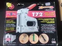 Arrow cable/staple gun