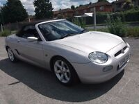 MG MGF STEPTRONIC 1.8 SPORTS (Silver) Clean great drive automatic with loads of bills & MoTs