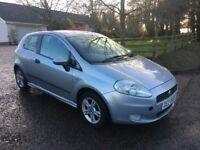 For sale 2006 petrol fiat punto 3 door
