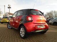 smart forfour PASSION (red) 2016-04-30