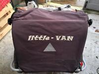 Little Van Bike Trailer for carrying kids