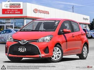 2015 Toyota Yaris LE One Owner, No Accidents, Toyota Serviced