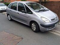 2000 X REG CITROEN PICASSO SX 1.6 JULY MOT , CAN ADD 12 MONTHS FAB DRIVER BARGAIN £295