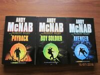 Boy Soldier Sequence Teenage Fiction by Andy McNab with Robert Rigby