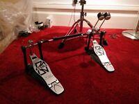 tama iron cobra jr. twin bass drum pedal (brand new)