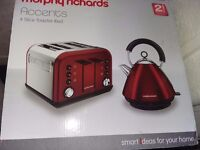 Morphy richards accent kettle Red *Bnib