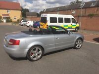 Audi A4 convertible for sale