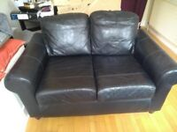 Ikea two seater leather sofa. Excellent condition.